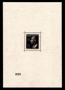 Protektorát 1943, aršík Heydrich, katalogově nejdražší aršík vůbec