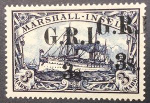 MARSHALL - INSELN - dvojitý přetisk , Mi.1914 - 12 I.