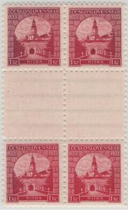 ČSR 1933, 2-páska meziarší Nitra, existují pouze 3 tyto páry
